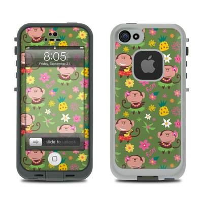 Lifeproof iPhone 5 Case Skin - Hula Monkeys