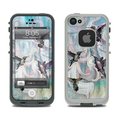 Lifeproof iPhone 5 Case Skin - Hummingbirds