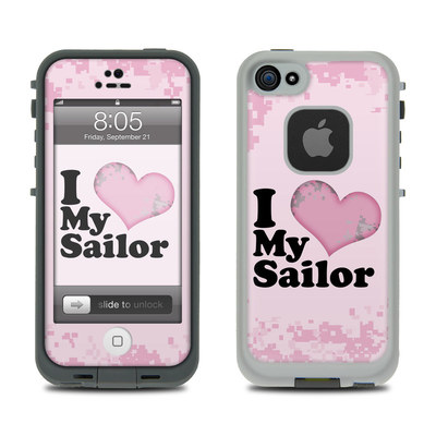 Lifeproof iPhone 5 Case Skin - I Love My Sailor