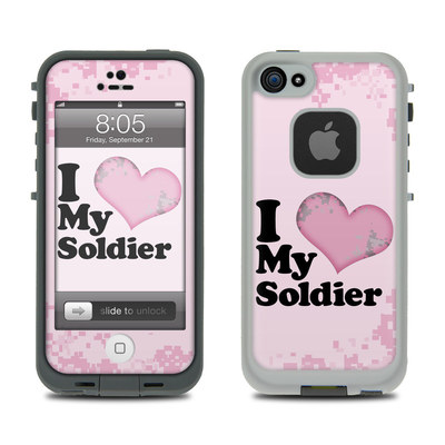 Lifeproof iPhone 5 Case Skin - I Love My Soldier
