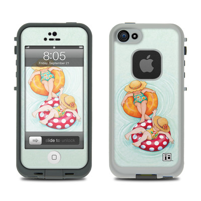 Lifeproof iPhone 5 Case Skin - Inner Tube Girls