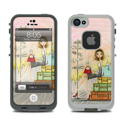 Lifeproof iPhone 5 Case Skin - The Jet Setter