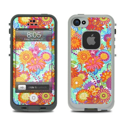 Lifeproof iPhone 5 Case Skin - Jubilee Blooms
