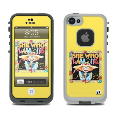 Lifeproof iPhone 5 Case Skin - She Who Laughs