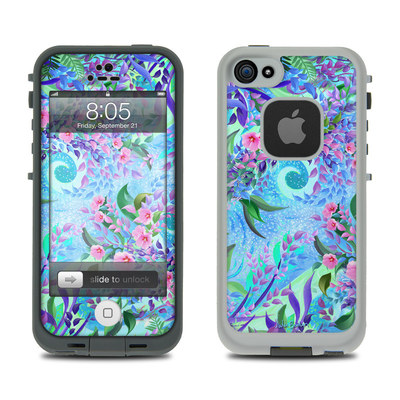 Lifeproof iPhone 5 Case Skin - Lavender Flowers