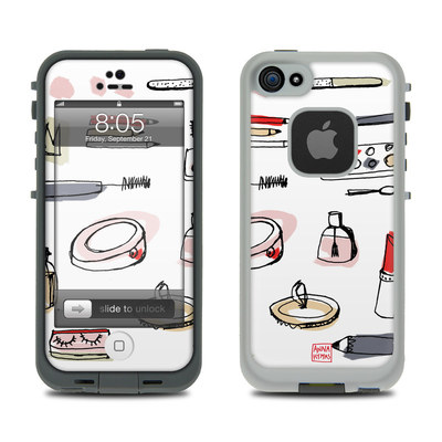 Lifeproof iPhone 5 Case Skin - Makeup