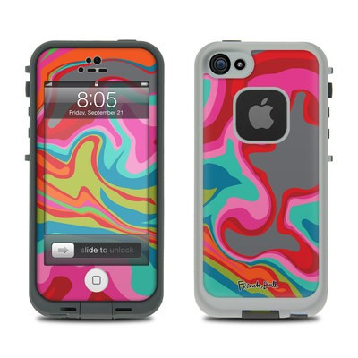 Lifeproof iPhone 5 Case Skin - Marble Bright