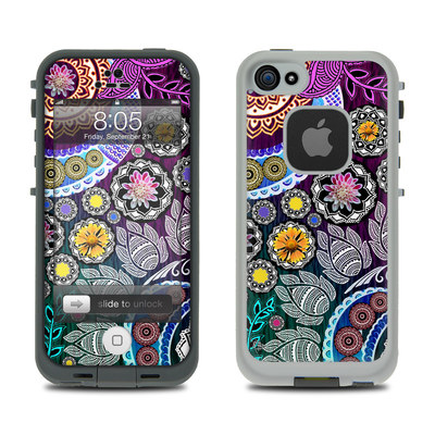 Lifeproof iPhone 5 Case Skin - Mehndi Garden