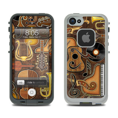 Lifeproof iPhone 5 Case Skin - Music Elements