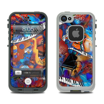 Lifeproof iPhone 5 Case Skin - Music Madness