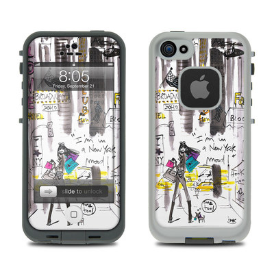 Lifeproof iPhone 5 Case Skin - My New York Mood