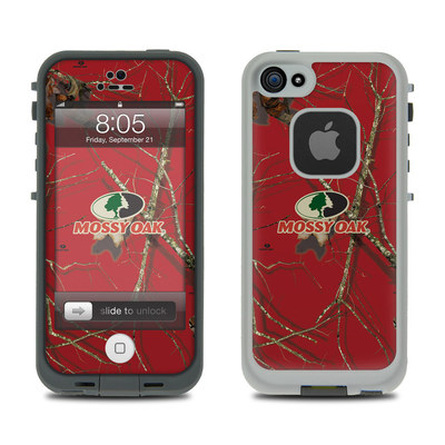 Lifeproof iPhone 5 Case Skin - Break-Up Lifestyles Red Oak