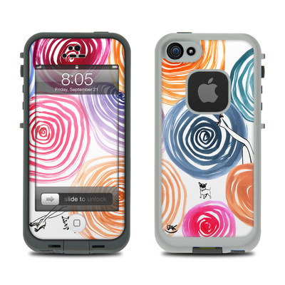 Lifeproof iPhone 5 Case Skin - New Circle