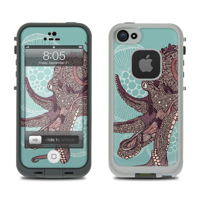 Lifeproof iPhone 5 Case Skin - Octopus Bloom