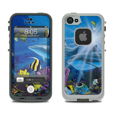 Lifeproof iPhone 5 Case Skin - Ocean Friends