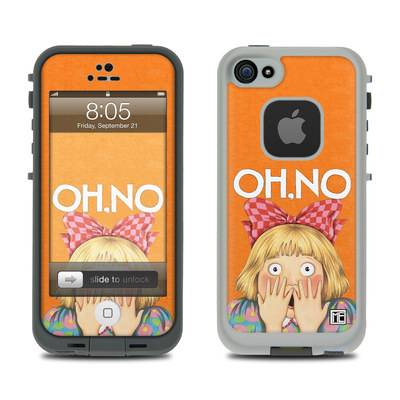 Lifeproof iPhone 5 Case Skin - Oh No