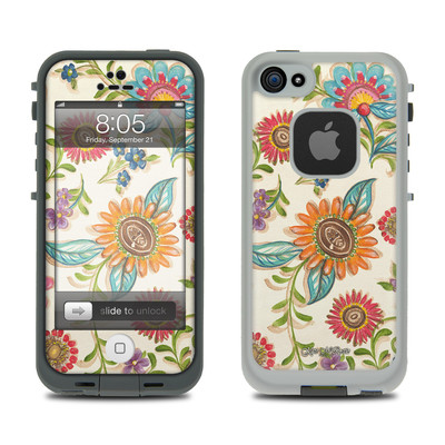 Lifeproof iPhone 5 Case Skin - Olivia's Garden