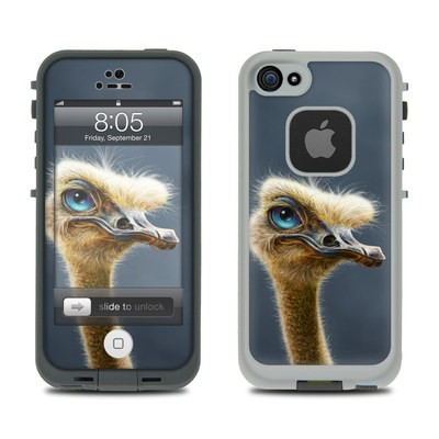 Lifeproof iPhone 5 Case Skin - Ostrich Totem