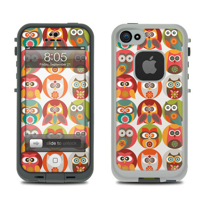 Lifeproof iPhone 5 Case Skin - Owls Family