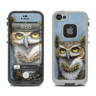 Lifeproof iPhone 5 Case Skin - Owl Totem