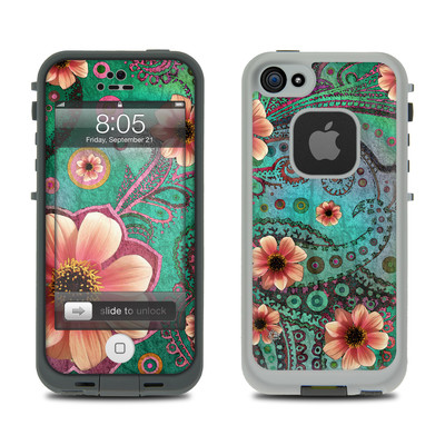 Lifeproof iPhone 5 Case Skin - Paisley Paradise