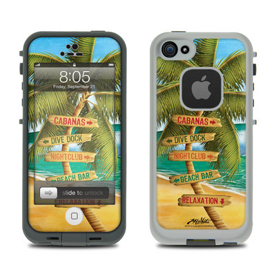 Lifeproof iPhone 5 Case Skin - Palm Signs