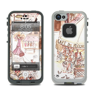 Lifeproof iPhone 5 Case Skin - Paris Makes Me Happy
