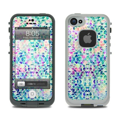 Lifeproof iPhone 5 Case Skin - Pastel Triangle