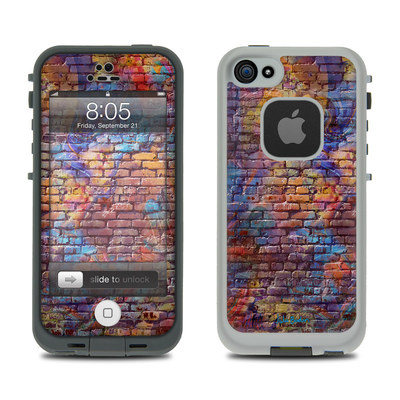 Lifeproof iPhone 5 Case Skin - Painted Brick