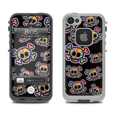Lifeproof iPhone 5 Case Skin - Peace Skulls