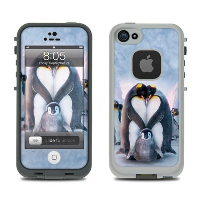 Lifeproof iPhone 5 Case Skin - Penguin Heart