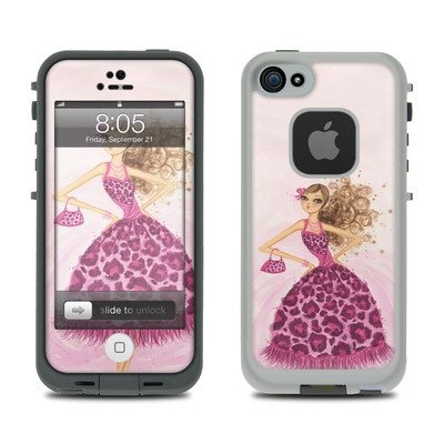 Lifeproof iPhone 5 Case Skin - Perfectly Pink