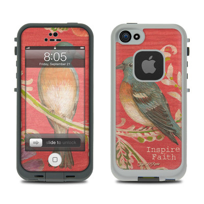 Lifeproof iPhone 5 Case Skin - Fresh Picked Fuschia