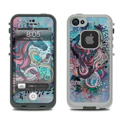 Lifeproof iPhone 5 Case Skin - Poetry in Motion