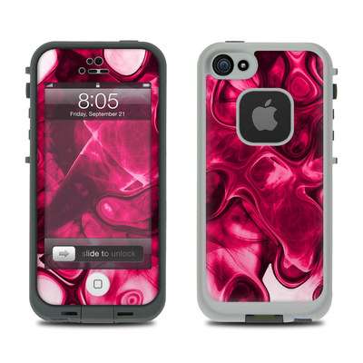 Lifeproof iPhone 5 Case Skin - Pink Splatter