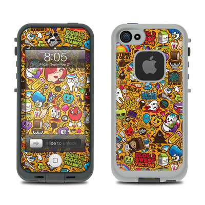 Lifeproof iPhone 5 Case Skin - Psychedelic