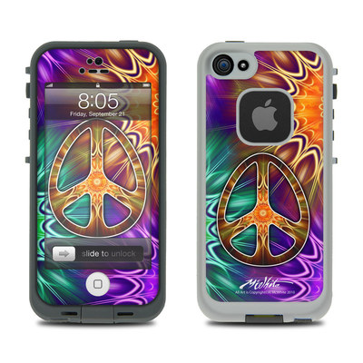 Lifeproof iPhone 5 Case Skin - Peace Triptik