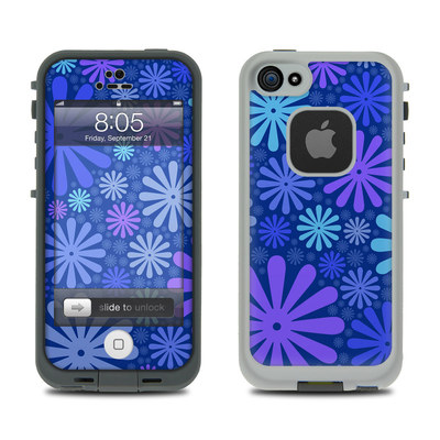 Lifeproof iPhone 5 Case Skin - Indigo Punch