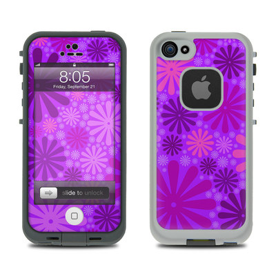 Lifeproof iPhone 5 Case Skin - Purple Punch