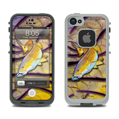 Lifeproof iPhone 5 Case Skin - Red Fish