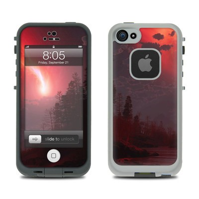 Lifeproof iPhone 5 Case Skin - Red Harbinger