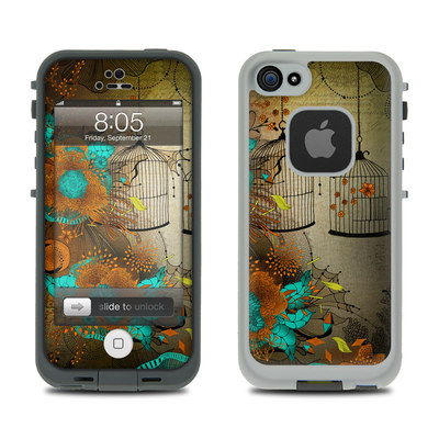 Lifeproof iPhone 5 Case Skin - Rusty Lace