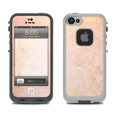Lifeproof iPhone 5 Case Skin - Rose Gold Marble