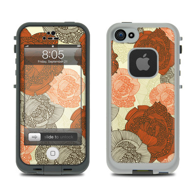 Lifeproof iPhone 5 Case Skin - Roses