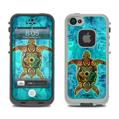 Lifeproof iPhone 5 Case Skin - Sacred Honu
