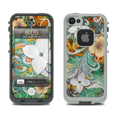 Lifeproof iPhone 5 Case Skin - Sangria Flora