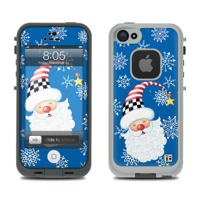 Lifeproof iPhone 5 Case Skin - Santa Snowflake