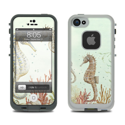 Lifeproof iPhone 5 Case Skin - Seahorse Trio