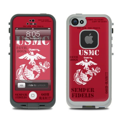 Lifeproof iPhone 5 Case Skin - Semper Fi
