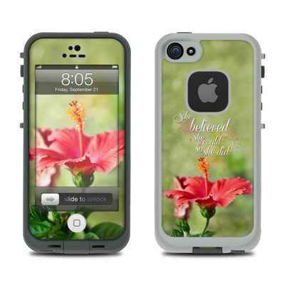 Lifeproof iPhone 5 Case Skin - She Believed
